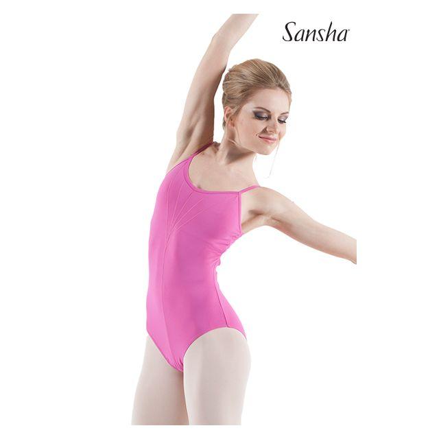 Costum de balet Sansha cu bretele subțiri MATILDA LE1570M