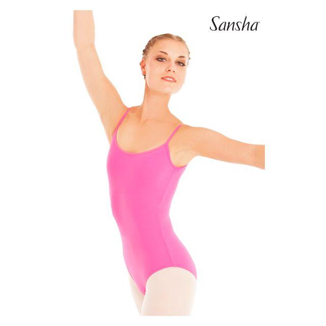 Costum de balet Sansha cu bretele subțiri TACITA LE1574M