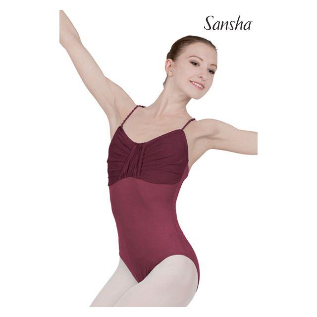 Costum de balet Sansha cu bretele subțiri TALICIA LE1577M