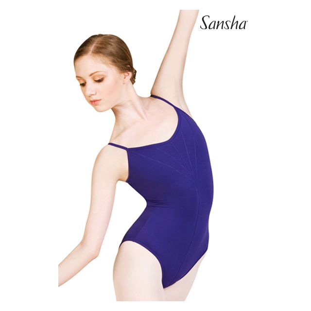 Costum de balet Sansha cu bretele subțiri MALITHA LE1583