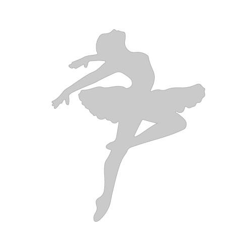 Costum de balet Sansha cu mâneci scurte DISCRETION LE3540M