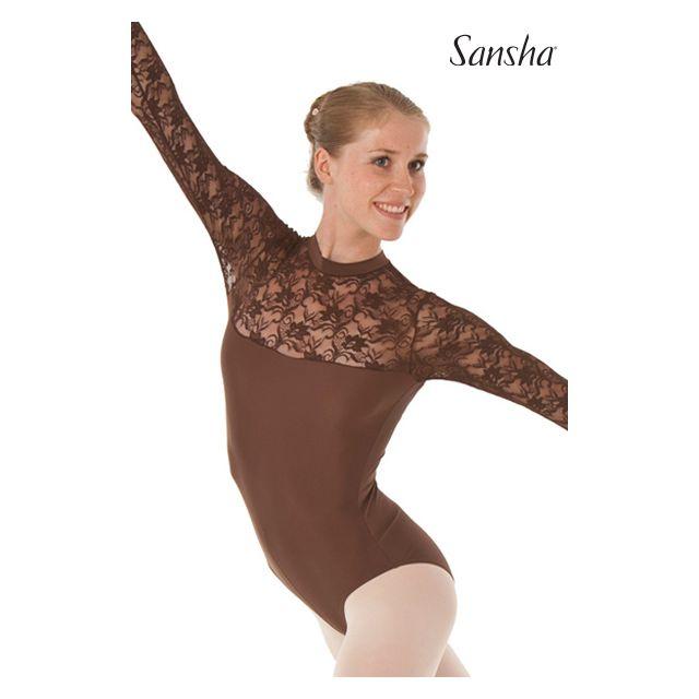 Costum de balet Sansha pe gât TEMORA LE4510M