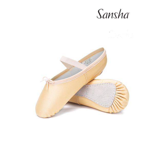 Flexibili Sansha leather full sole TUTU 4S
