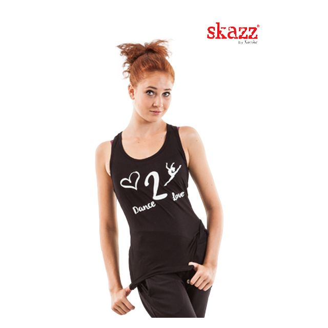 Sansha Skazz criss cross top SK1619V