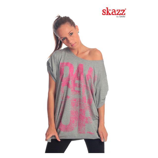 Tricou larg Sansha Skazz cu imprimeu SK3035