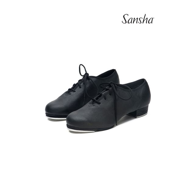 Pantofi de step Sansha cu talpa de piele T-SPLIT TA01Lco