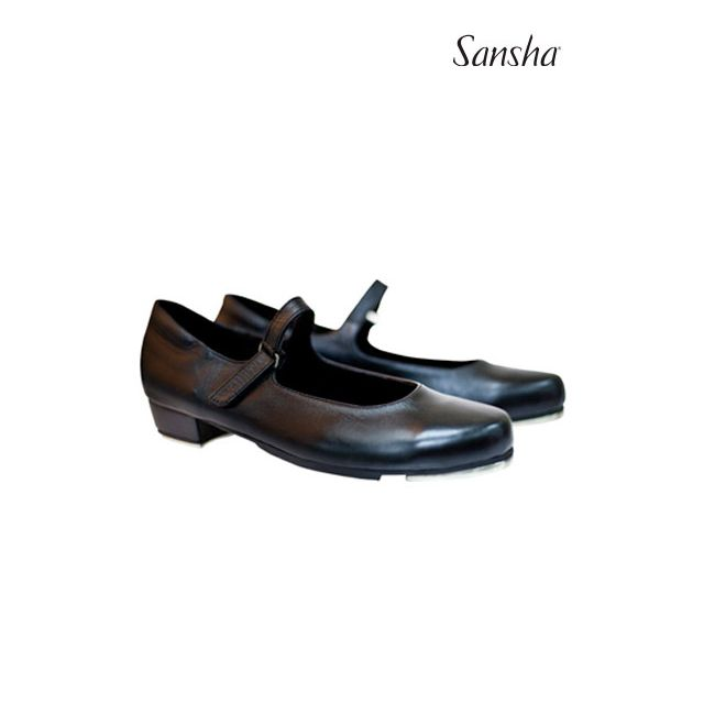 Pantofi de step Sansha din piele T-SONIA TA905L