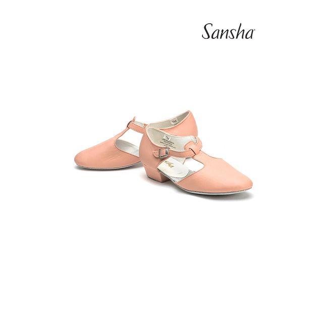 Pantofi pentru profesor Sansha de piele DIVA TE1L