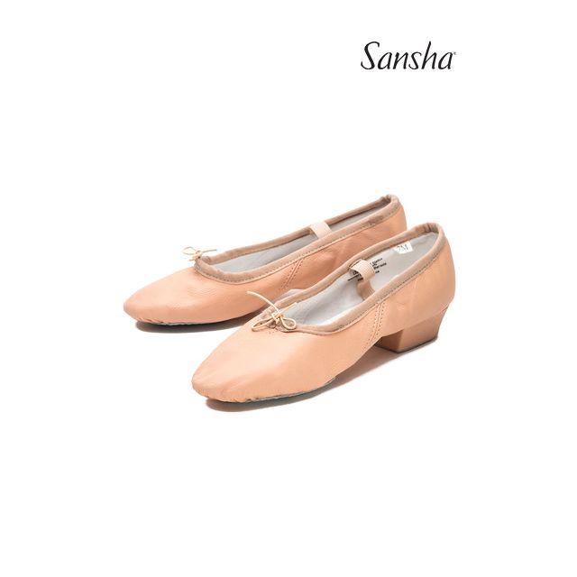 Pantofi pentru profesor Sansha de piele PRIMA TE2L