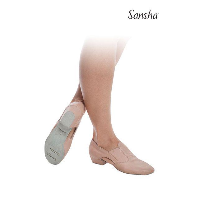 Pantofi pentru profesor Sansha de piele MAGNIFICA TE3L