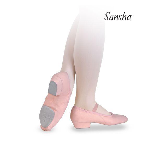 Pantofi pentru profesori Sansha de pânză PRIMA TE5C