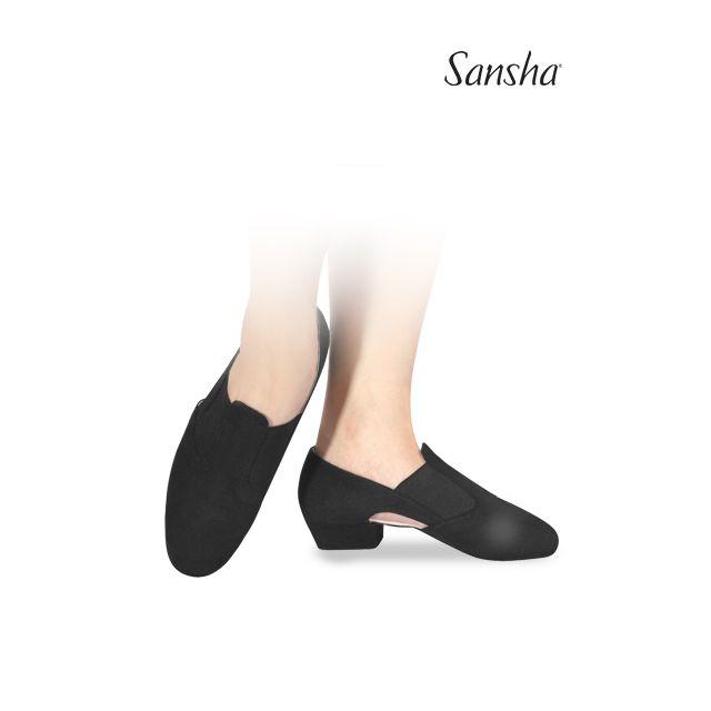 Pantofi pentru profesori Sansha de pânză MAGNIFICA TE6C