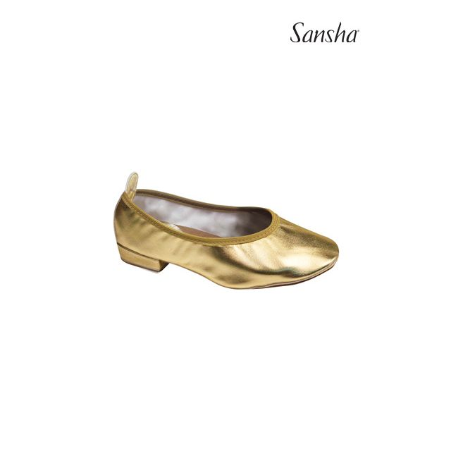 Pantofi Sansha cu elastic pentru dans oriental IZMIR TK11PU