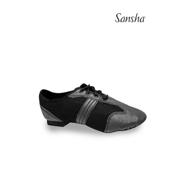 Pantofi de dans Sansha din pânză și piele SAN PAOLO V937M