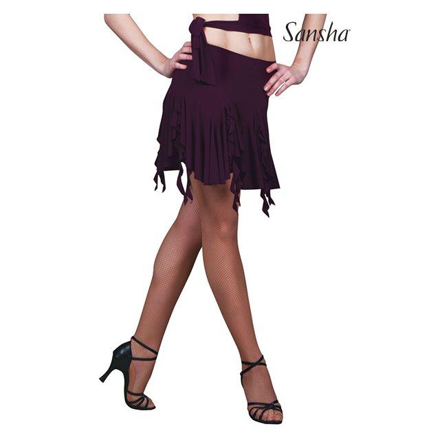 Fustă asimetrică Sansha Ballroom SALUD W0801P