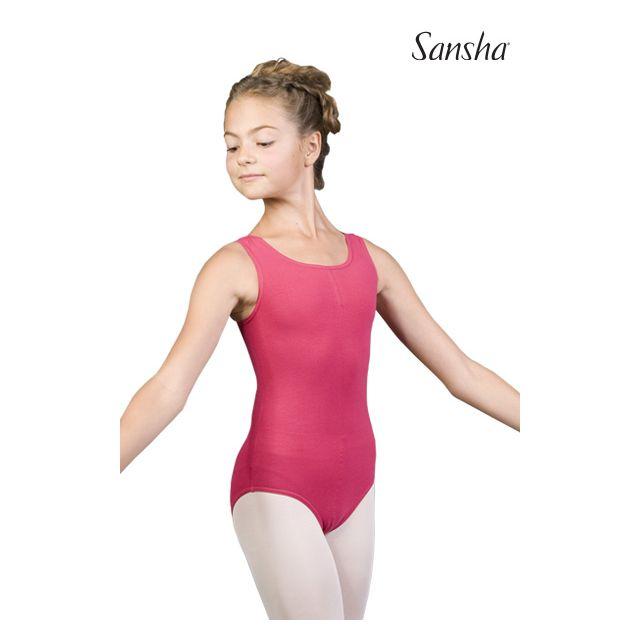 Costum de balet Sansha cu bretele late IVETTE XY2506C