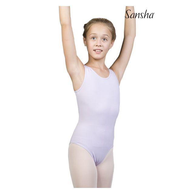 Costum de balet Sansha cu bretele late IMOGENE XY2508C