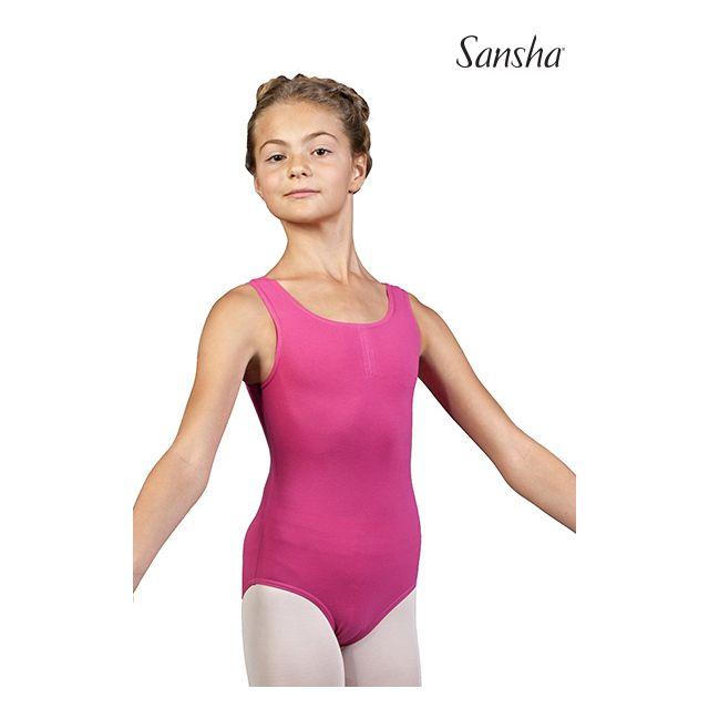 Costum de balet Sansha încrețit IDONY XY2509C