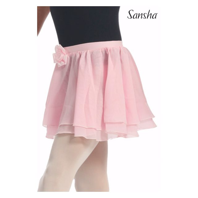 Fustă pentru fete Sansha cu elastic în talie KRISTIE Y0718CH