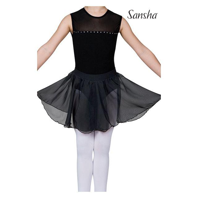 Fustă pentru fete Sansha cu elastic în talie FRAYA Y0721P