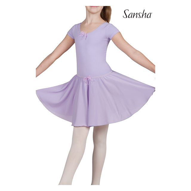 Fustă pentru fete Sansha cu elastic în talie FLORINDA Y0723P