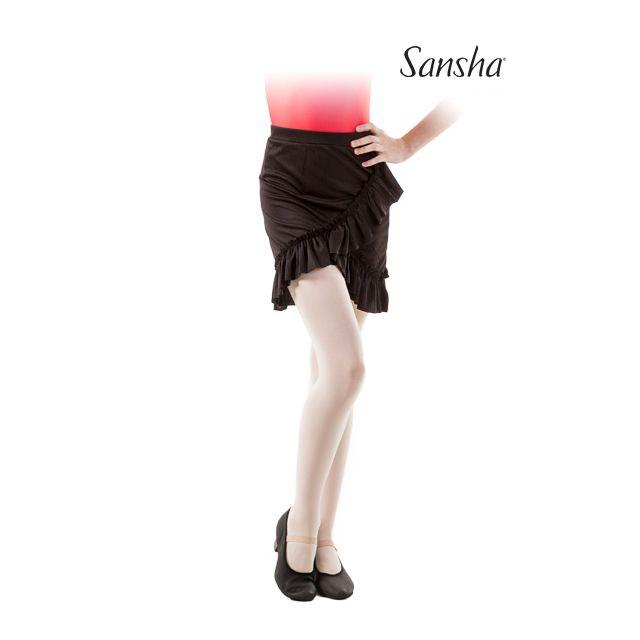 Fustă cu volănaș Sansha pentru fete TWYLA Y0715P