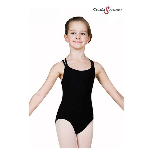 Costum de balet Sansha Sign pentru fete STEFANI Y1559C