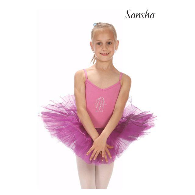 Rochie Sansha pentru fete cu bretele subțiri FELICITY Y1701C