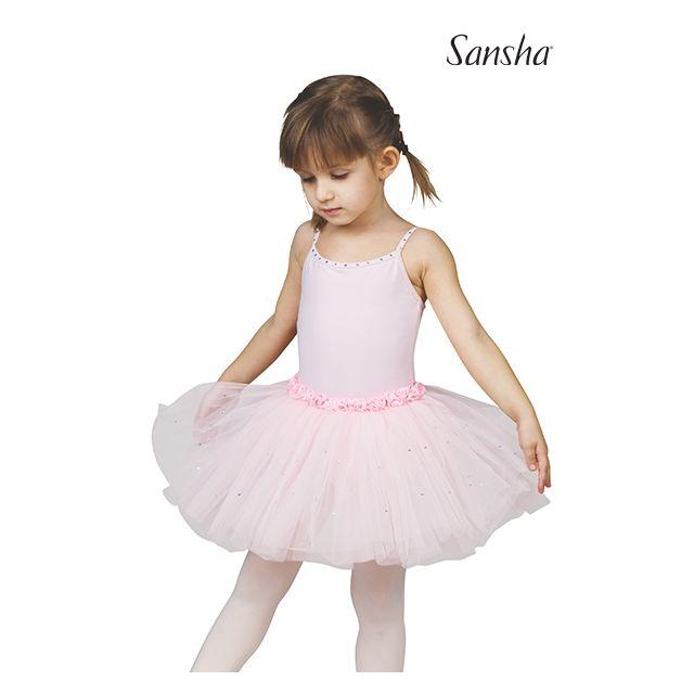 Rochie Sansha pentru fete cu bretele subțiri FAWN Y1705C