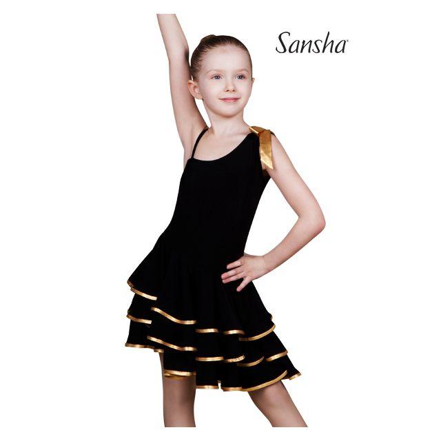 Rochie Sansha Ballroom fără mâneci BIANCA Y1709P