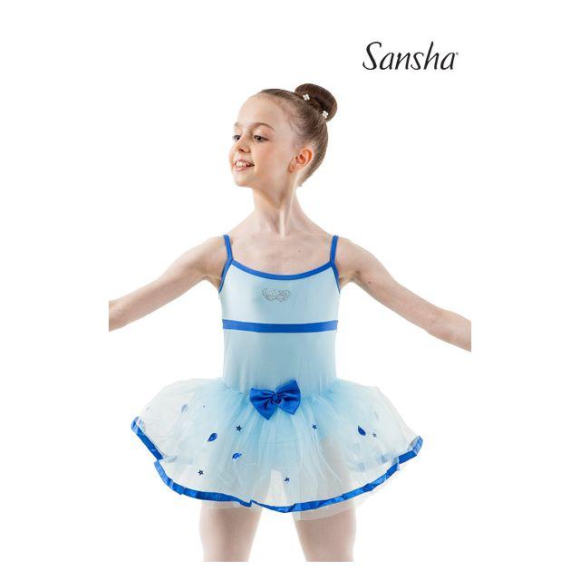 Rochie pentru fete Sansha cu bretele subțiri BELINA Y1712N